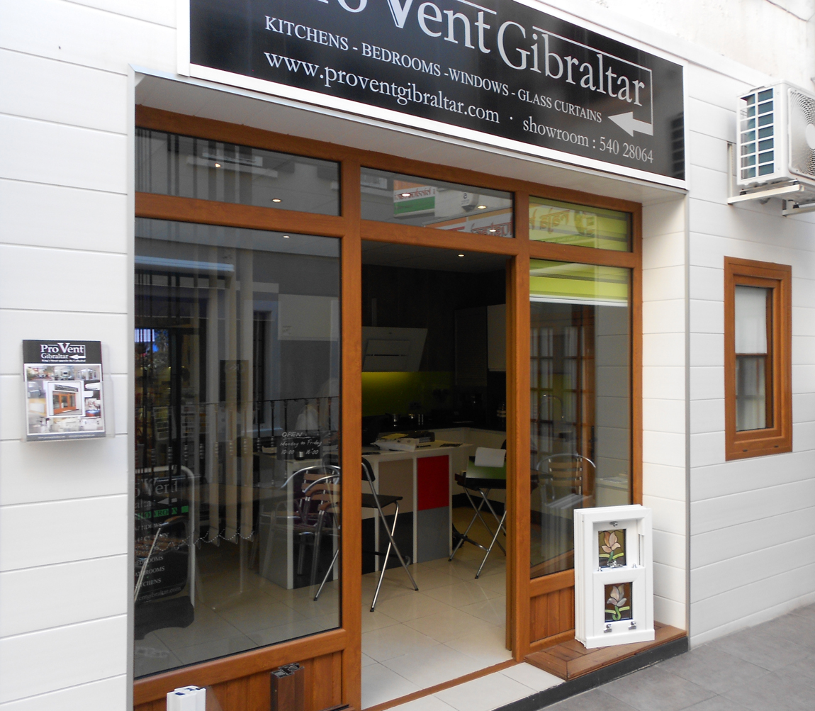 Provent Gibraltar Windows Doors Glass Curtains glass roofs